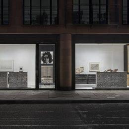 Peter Marino: Fire and Water @Gagosian Davies St, London  - GalleriesNow.net