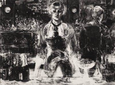 From GalleriesNow.net - Robert Longo: Let the Frame of Things Disjoint @Galerie Thaddaeus Ropac, London, London