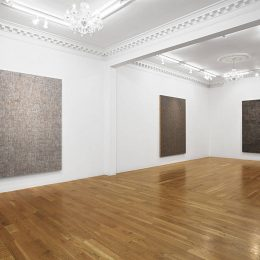 McArthur Binion: DNA:Sepia @Massimo De Carlo, London, London  - GalleriesNow.net