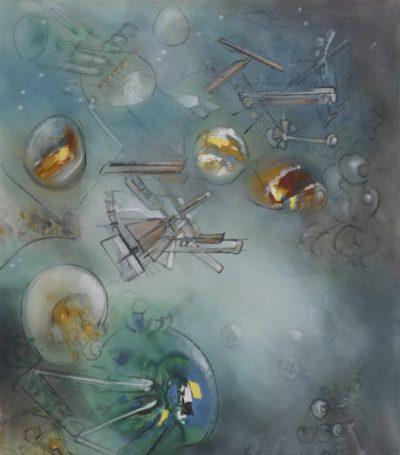 From GalleriesNow.net - Roberto Matta: On the Edge of a Dream @Robilant + Voena, St Moritz, St. Moritz