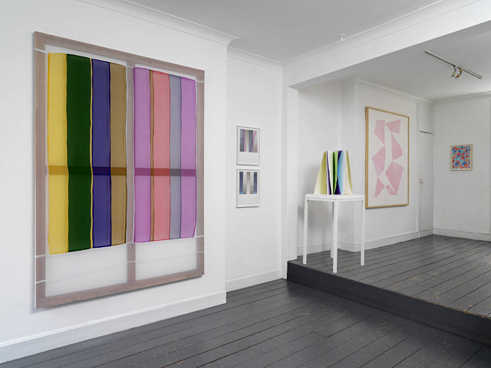 From GalleriesNow.net - The Colour and the Shape @Patrick Heide Contemporary Art, London