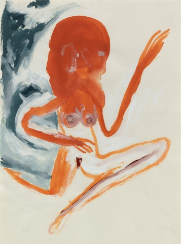 From GalleriesNow.net - Don Van Vliet: Works on Paper @Michael Werner, Upper East Side, New York Upper East Side