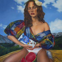 Chloe Wise: Of false beaches and butter money @Almine Rech Gallery, Paris  - GalleriesNow.net