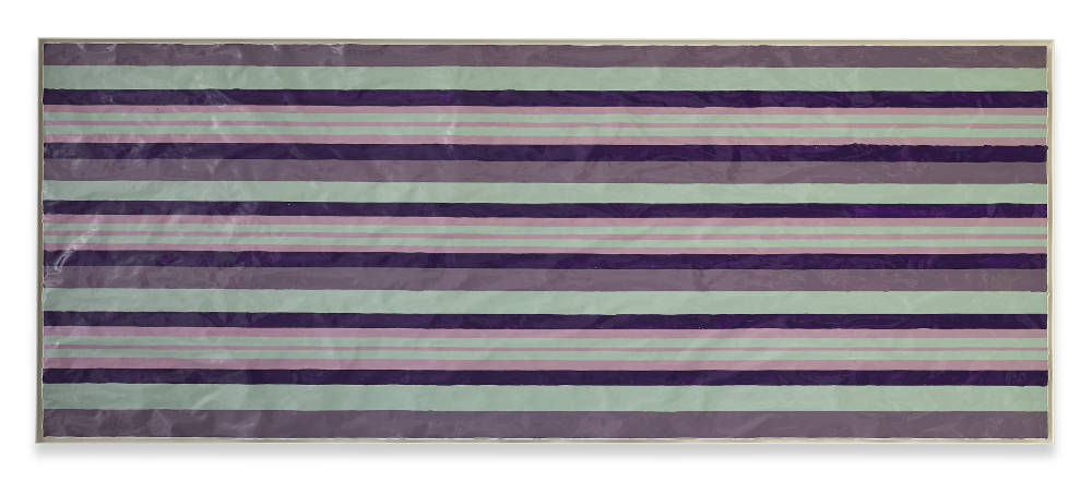 Gary Hume, Windbreak, 2016. Gloss paint on paper 89,5 x 228,3 cm / 35 1/4 x 89 7/8 inches © Gary Hume / DACS, London, 2017. Courtesy of the artist, Sprüth Magers and Matthew Marks Gallery