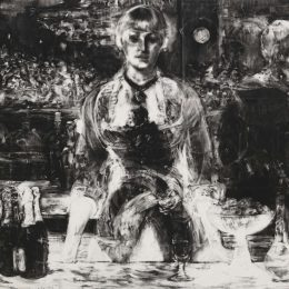 Robert Longo: Let the Frame of Things Disjoint @Galerie Thaddaeus Ropac, London, London  - GalleriesNow.net