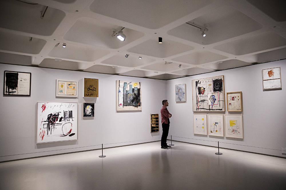 basquiat boom for real at barbican. Black Bedroom Furniture Sets. Home Design Ideas
