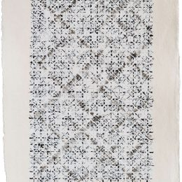 Ding Yi: Appearance of Crosses @Timothy Taylor 16x34, New York  - GalleriesNow.net