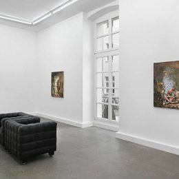G L Brierley: Rebis @FeldbuschWiesnerRudolph, Berlin  - GalleriesNow.net