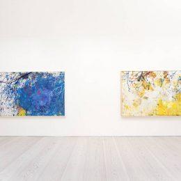 Jarl Ingvarsson: Trädens nerver ärver färgens kläder @Galerie Forsblom, Helsinki  - GalleriesNow.net
