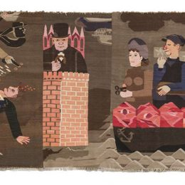 Hannah Ryggen: Woven Histories @Modern Art Oxford, Oxford  - GalleriesNow.net