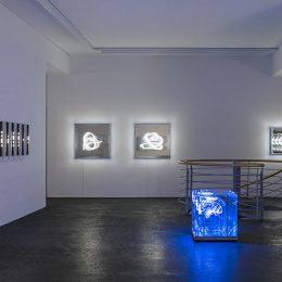 Brigitte Kowanz: Codes and Cables @Häusler Contemporary München, Munich  - GalleriesNow.net