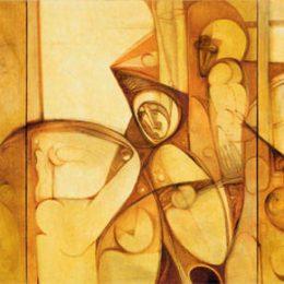 Ibrahim El-Salahi @Sotheby's S|2 Gallery, London  - GalleriesNow.net