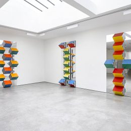 Daniel Buren: PILE UP: High Reliefs. Situated Works @Lisson Gallery, London  - GalleriesNow.net