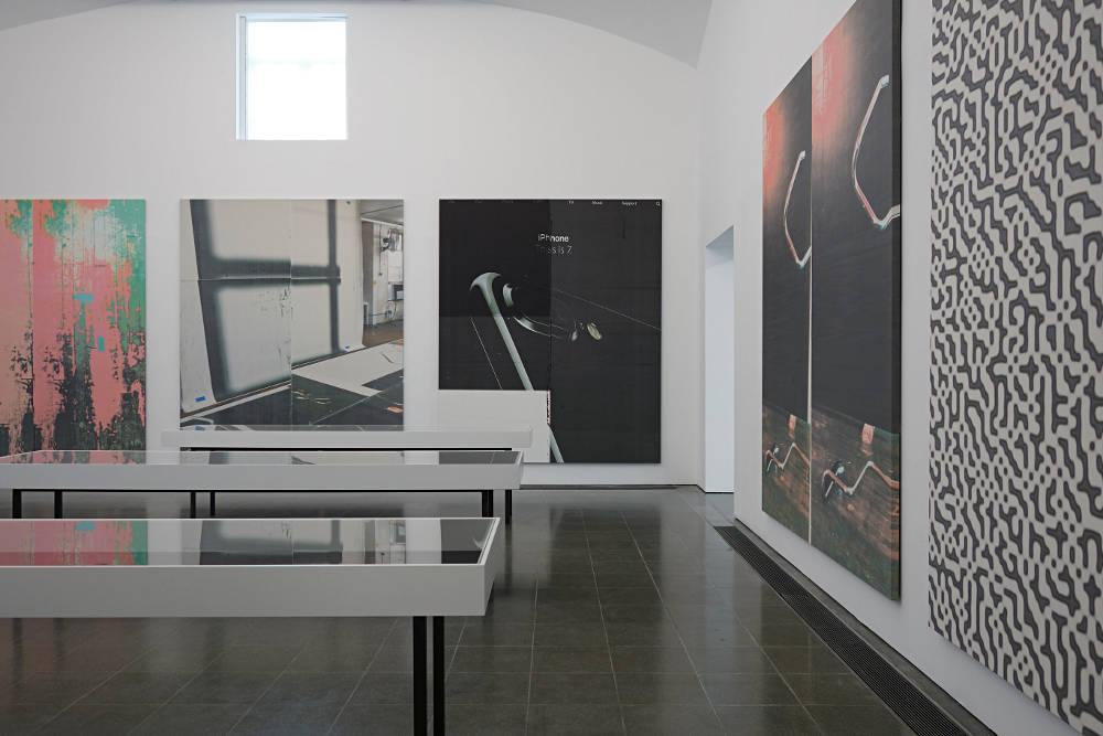 Serpentine Gallery Wade Guyton 1