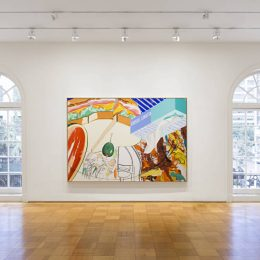 David Salle: Ham and Cheese and Other Paintings @Skarstedt, New York  - GalleriesNow.net