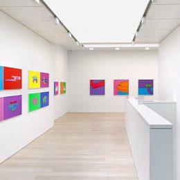 Michael Craig-Martin: Quotidian @Alan Cristea Gallery, London  - GalleriesNow.net
