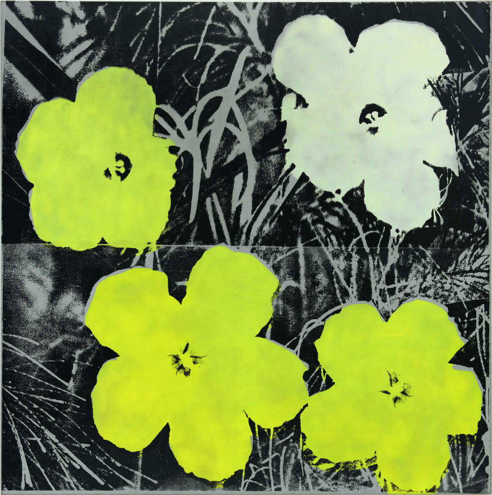 Andy Warhol, Flowers, 1964-65