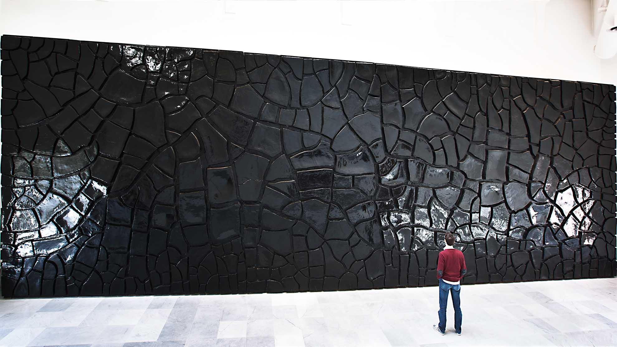 John Armleder, Split! at Museo di Capodimonte
