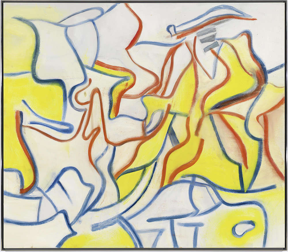 Willem de Kooning (1904-1997), Untitled, 1986. Oil on canvas 70 x 80 in. (177.8 x 203.2 cm.) © The Willem de Kooning Foundation / Artists Rights Society (ARS), New York and DACS, London 2017.
