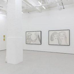 Nicola Tyson: Beyond the Trace @Drawing Room, London  - GalleriesNow.net