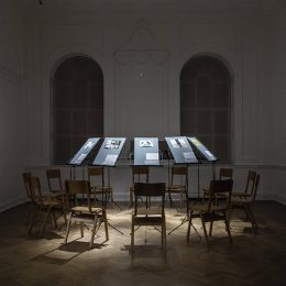 Ilya and Emilia Kabakov: Concert for a Fly (Chamber Music) @Galerie Thaddaeus Ropac, London, London  - GalleriesNow.net