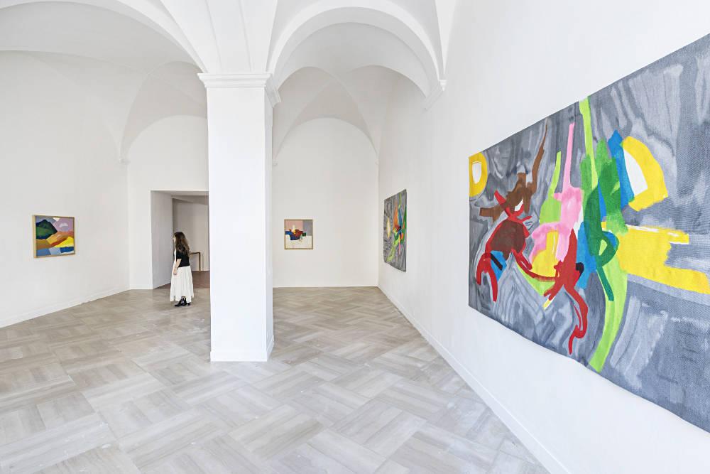 Galleria Continua San Gimignano Etel Adnan 2