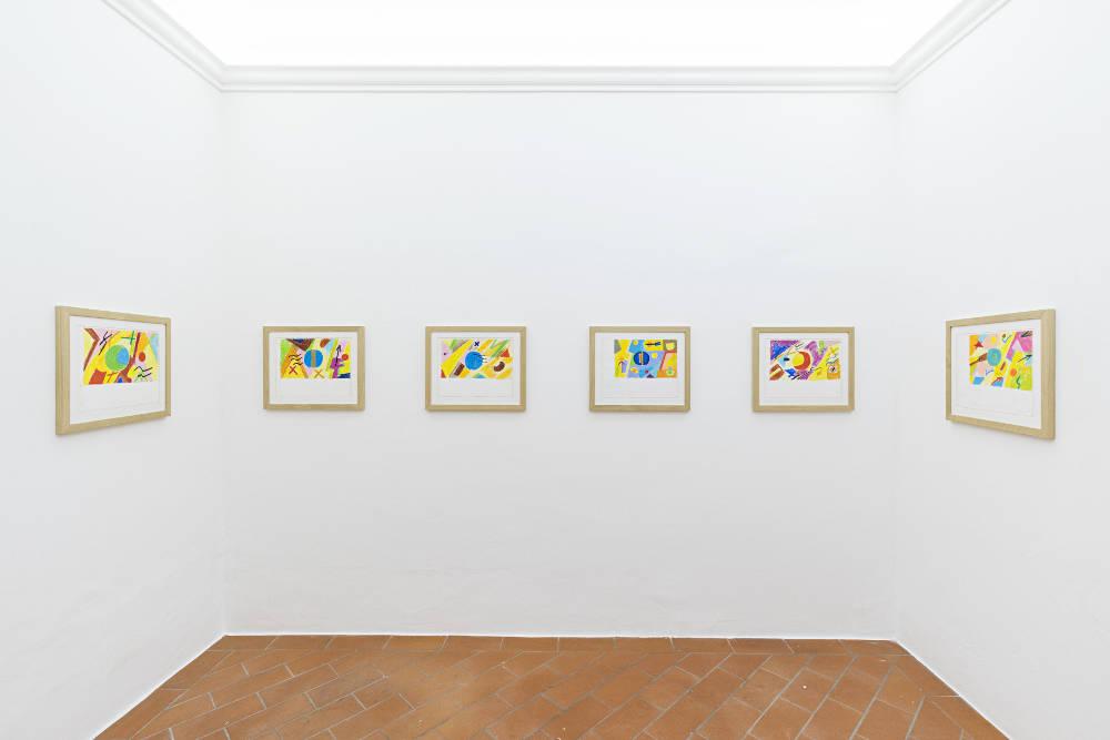 Galleria Continua San Gimignano Etel Adnan 5