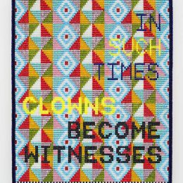 Jeffrey Gibson: In Such Times @Roberts & Tilton, Culver City  - GalleriesNow.net