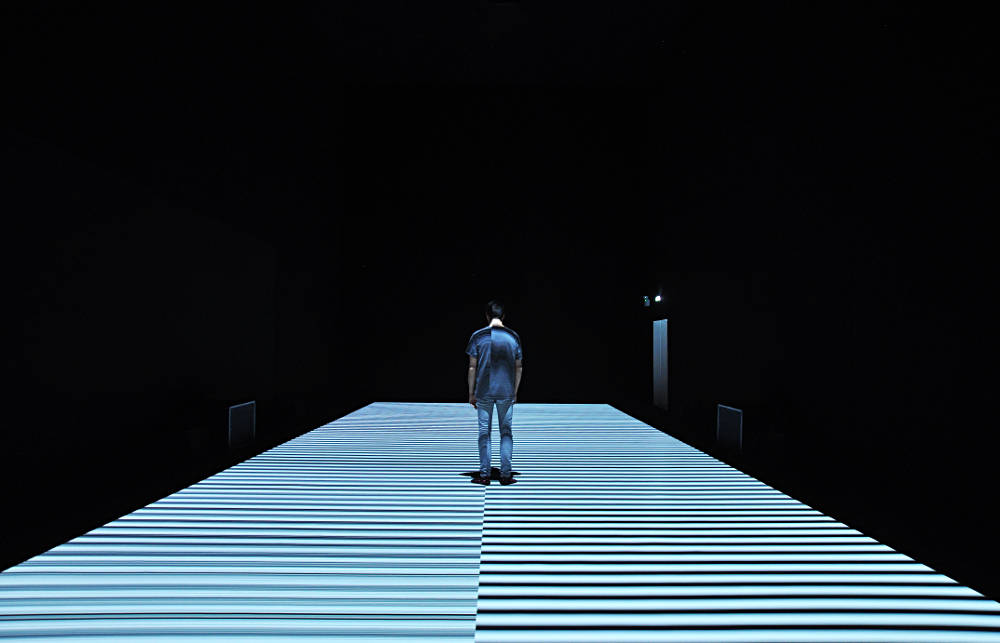 Ryoji Ikeda - test pattern [N ̊12] at Store Studios