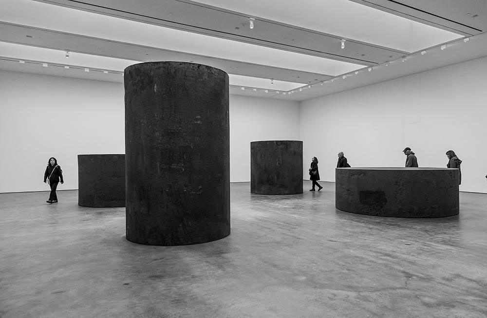 David Zwirner 20th St Richard Serra 2