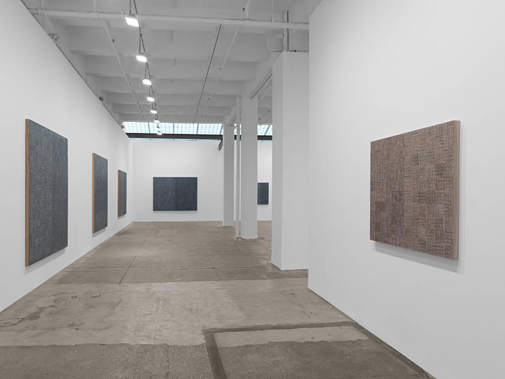 Galerie Lelong Co McArthur Binion 1