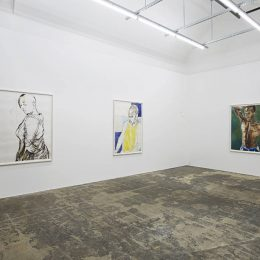 Claudette Johnson @Hollybush Gardens, London  - GalleriesNow.net