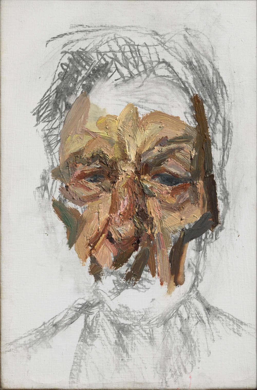 Lucian Freud, Self-Portrait, 2002
