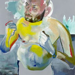 Martin Kippenberger: Hand Painted Pictures @Skarstedt, New York  - GalleriesNow.net