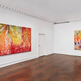Sam Gilliam: 1967 - 1973 @Mnuchin Gallery, New York  - GalleriesNow.net