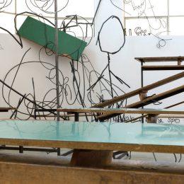 Petrit Halilaj: Abetare (Fluturat) @kamel mennour, r. du Pont de Lodi, Paris  - GalleriesNow.net