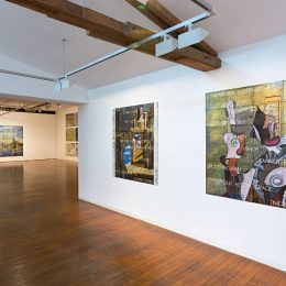 Imants Tillers: In Normal Times @Roslyn Oxley9 Gallery, Sydney  - GalleriesNow.net