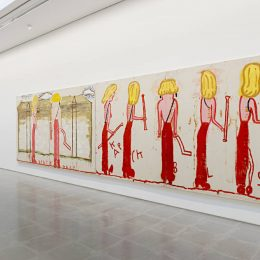 Rose Wylie: Quack Quack @Serpentine Sackler Gallery, London  - GalleriesNow.net