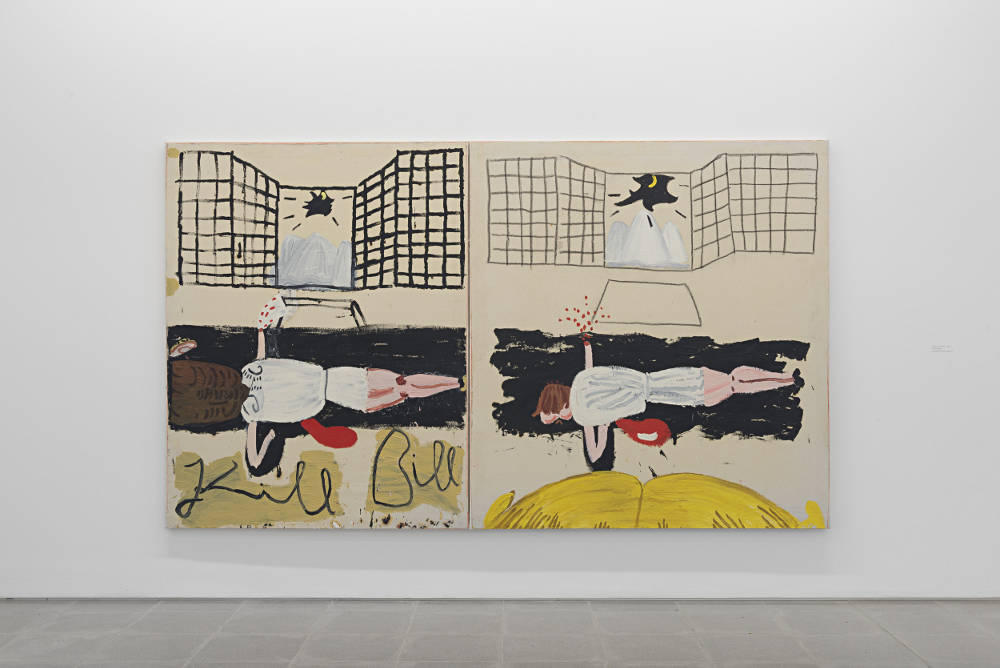 Serpentine Sackler Gallery Rose Wylie 4