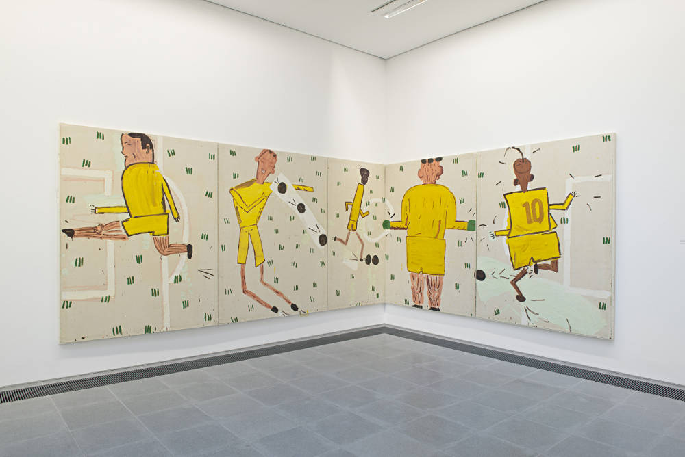 Serpentine Sackler Gallery Rose Wylie 5