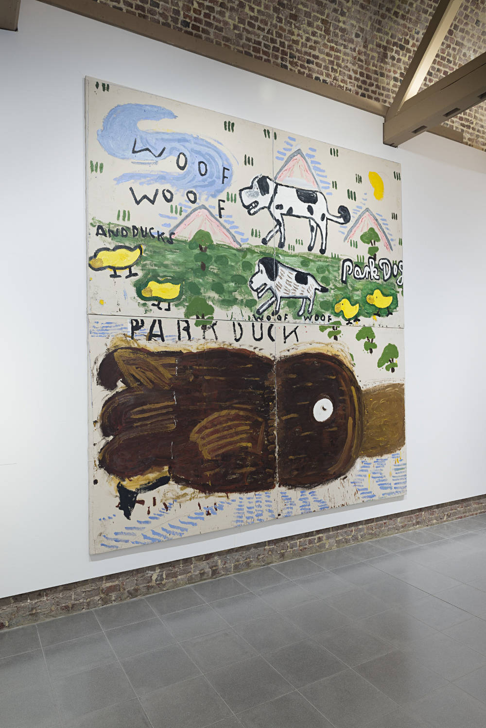 Serpentine Sackler Gallery Rose Wylie 6