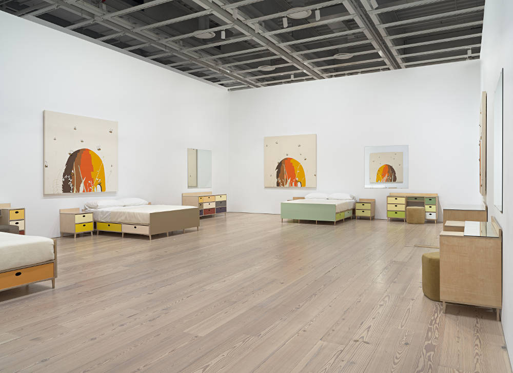 Whitney Museum Laura Owens 1