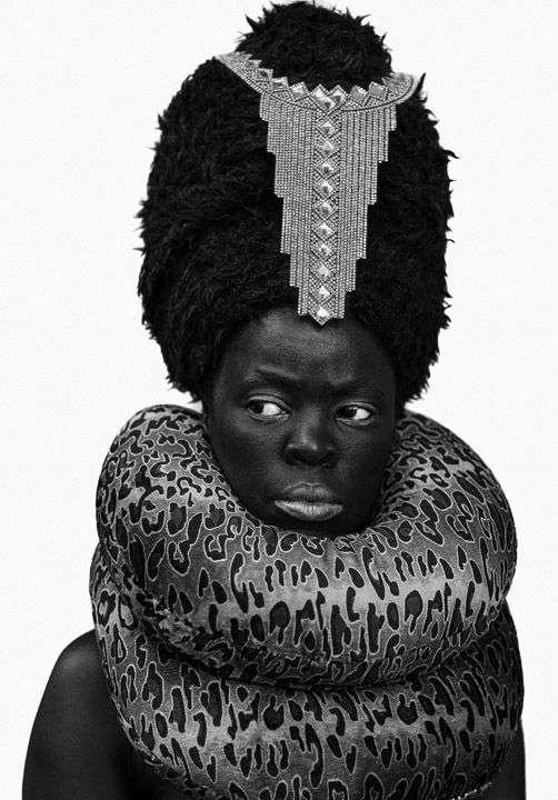 Zanele Muholi, Xiniwe II at Cassilhaus, North Carolina, 2016. Gelatin silver print