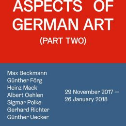 Aspects of German Art (Part Two) @Ben Brown Fine Arts London, London  - GalleriesNow.net