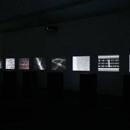 Ryoji Ikeda: π, e, ø @Almine Rech Gallery, Paris  - GalleriesNow.net