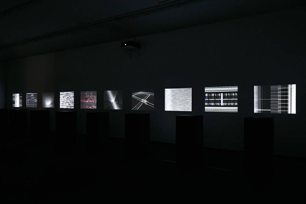 Almine Rech Gallery Paris Ryoji Ikeda 4