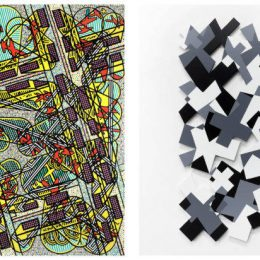 Two Journeys. Bernard Cohen and Nathan Cohen @Flowers Gallery, Kingsland Road, London  - GalleriesNow.net