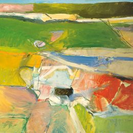 Diebenkorn | Thiebaud: California Landscapes @Acquavella Galleries, New York  - GalleriesNow.net
