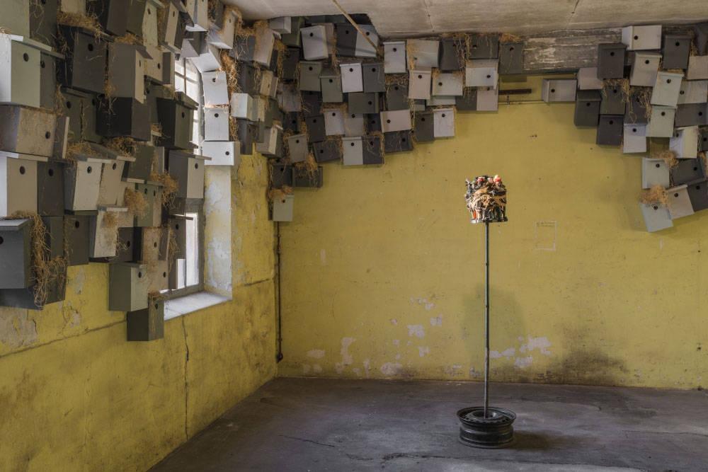 Galleria Continua Les Moulins 2017 Pascale Marthine Tayou 3