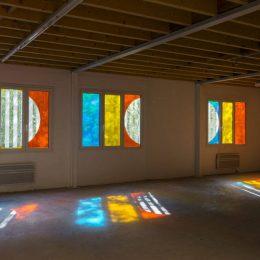Daniel Buren: Autour du retour d'un détour @Galleria Continua Les Moulins, Boissy-le-Châtel  - GalleriesNow.net